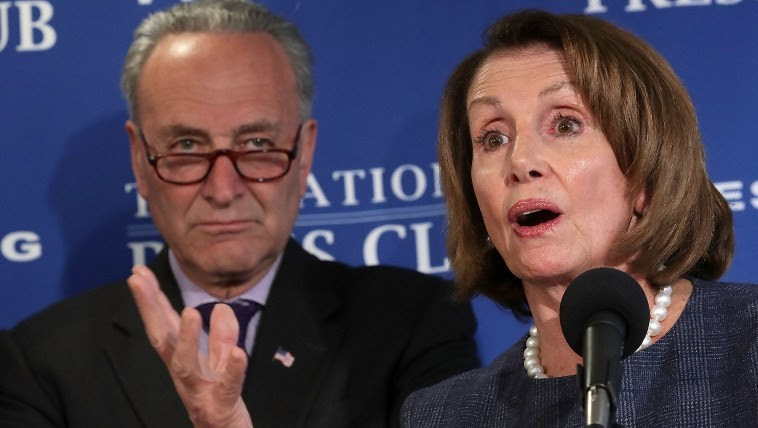 Image result for Nancy Pelosi Declares That She and Chuck Schumer