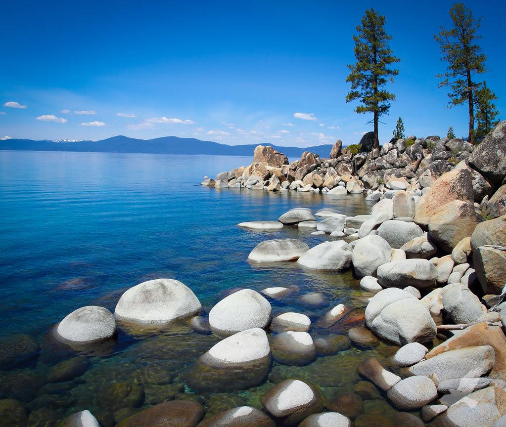 Lake Tahoe on the Rocks Please