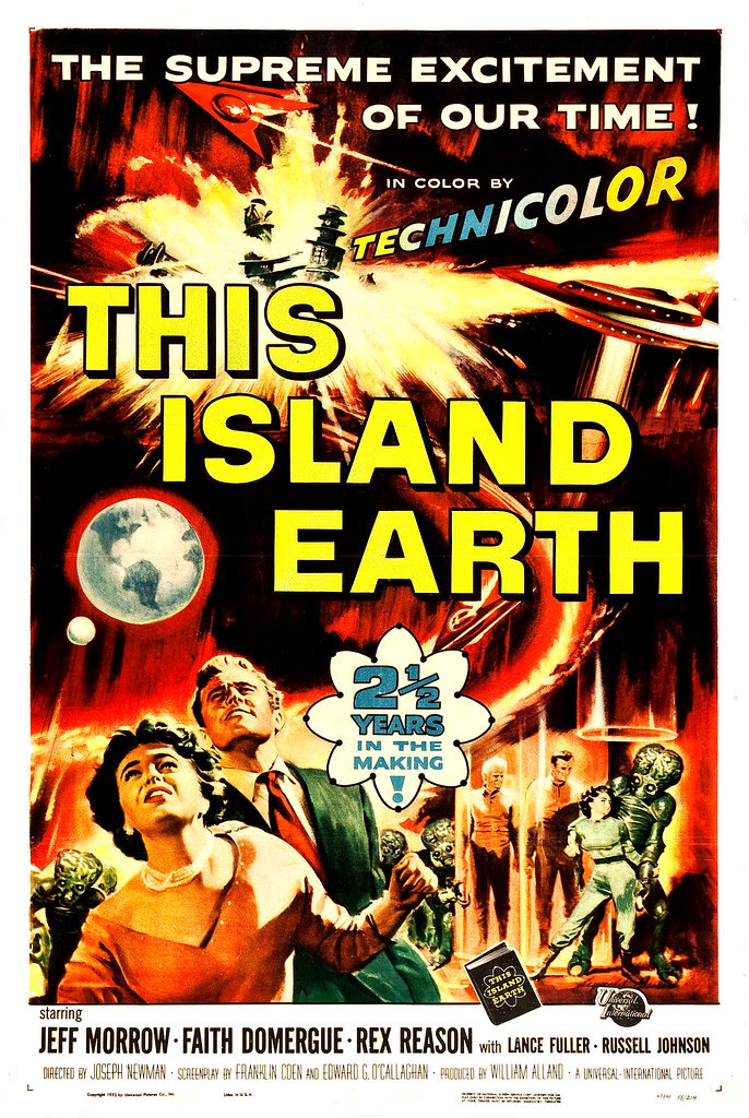 Reynold Brown - This Island Earth (Universal International, 1955)