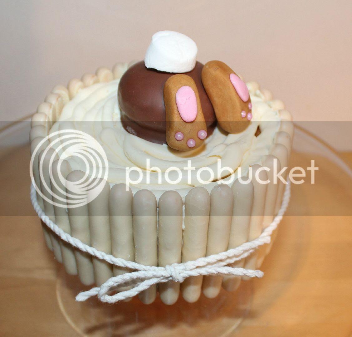bunny butt in cake