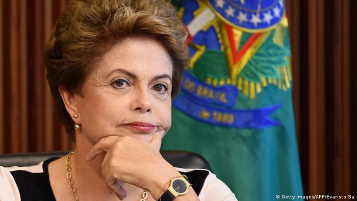 Brasilien Dilma Rousseff Pressekonferenz