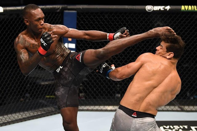 'Adesanya Is Human Trash, I Want Revenge – Paulo Costa Slams The Nigerian UFC