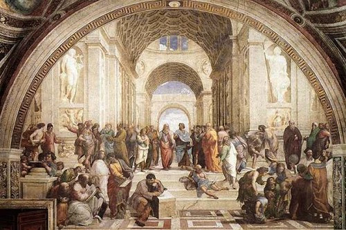 Rahael - School of Athens