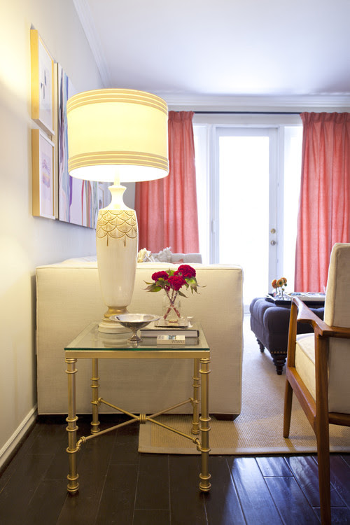 The Luxe Lifestyle Master Bedroom Reveal: The Luxe Lifestyle: Coral & Grey: Contemplating A Master