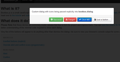 how to create a dialog box in javascript