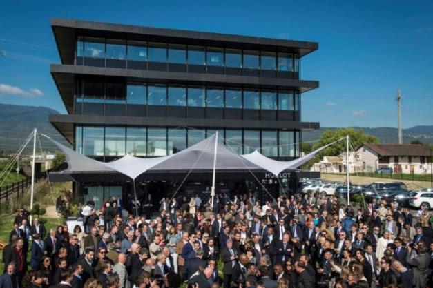 Hublot : inauguration d'une nouvelle manufacture à Nyon