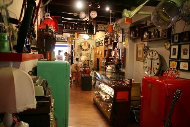 A treasure trove of vintage knick knacks