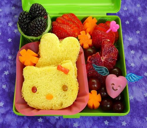 TinySprite Snack Sandwich Bento by sherimiya ♥