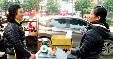 Gặp Hai Em Gái duyên dáng bán Vịt nướng - Khâm phục tài nghệ băm siêu đẳng