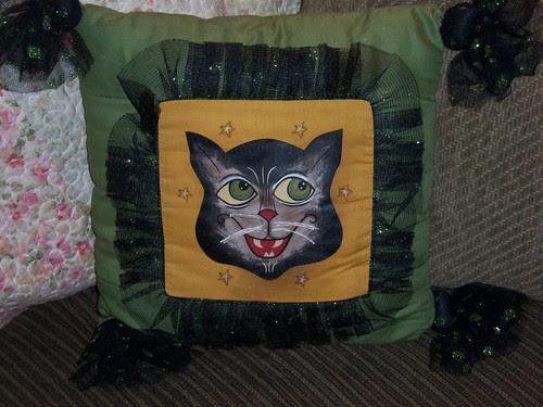 Halloween pillow 1