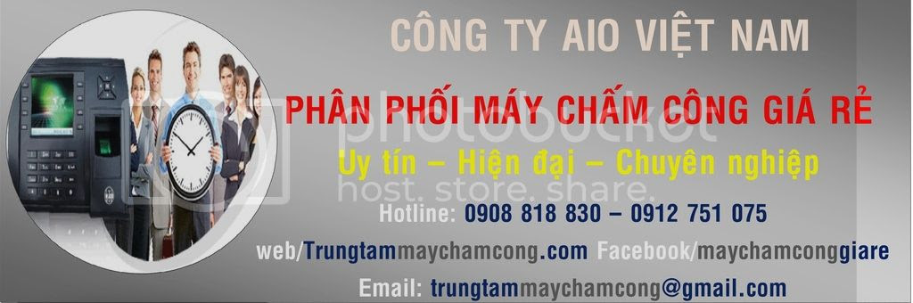 trung tam may cham cong , may cham cong gia re