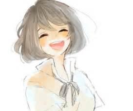 anime girl short hair anime girls pinterest shorts
