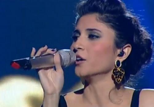 """Lina Makhul, cantante arabo-israeliana, nel 2013 ha vinto il talent show """"The Voice of Israel"""" con il 62% dei voti degli ascoltatori"""