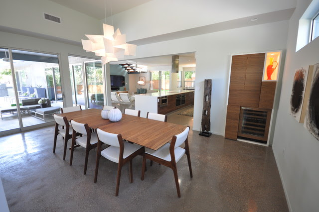 Rollingwood Residence Dining Room - modern - dining room - austin ...
