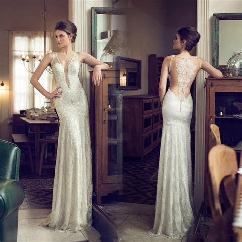Cheap 2015 Wedding Dresses   Discount Sexy Lace Wedding