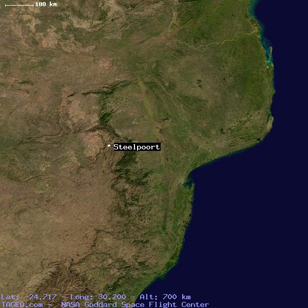 Steelpoort Mpumalanga South Africa Geography Population