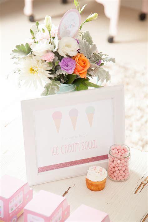 Kara's Party Ideas Pastel Ice Cream Social Birthday via