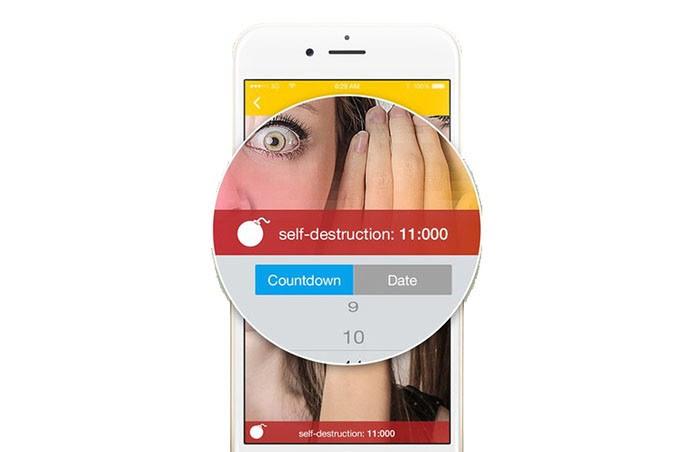 Simsme permite programar autodestruição das mensagens (Foto: Divulgação)