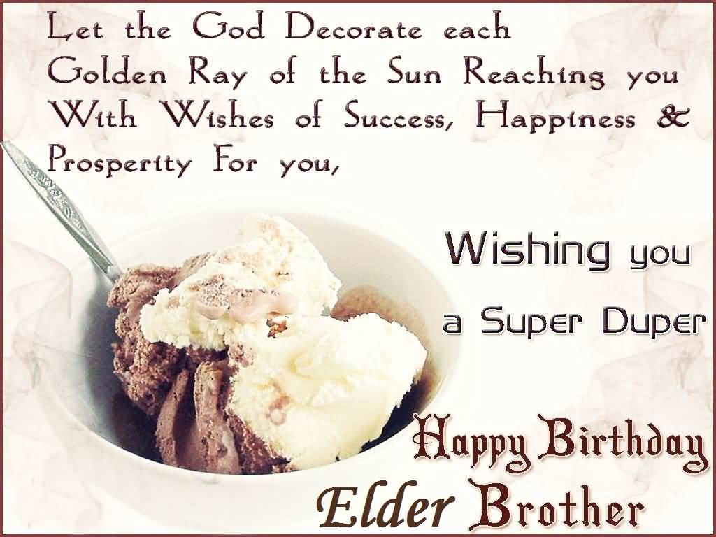 Birthday Wishes For Elder Brother Page 4 Nicewishes