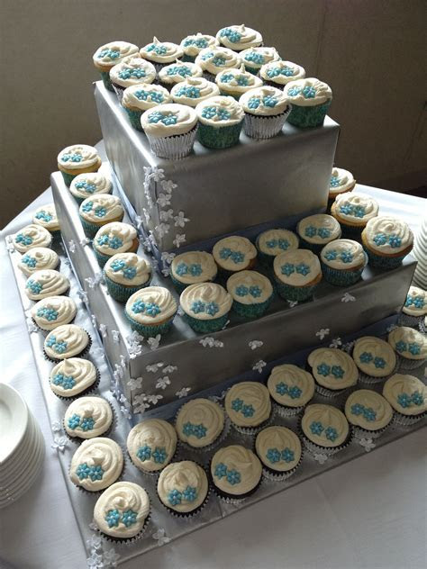 Wedding Cupcake Tower. Jusalpha Large 7 tier Acrylic Round