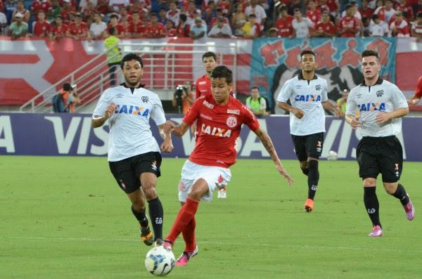 A equipe potiguar pode perder por até dois gols de diferença na Arena da Baixada