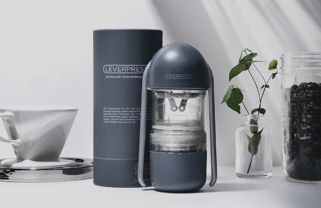 【Leverpresso 2.0】韓國製造 手壓濃縮咖啡機 按壓即沖好咖啡