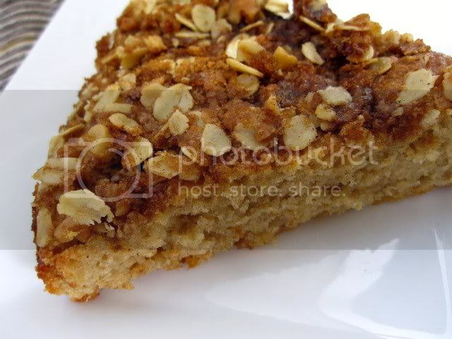 Healthy Sour Cream Coffee Cake