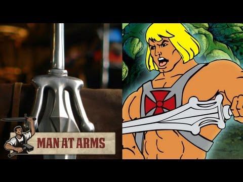 Espada do He-man e forjada