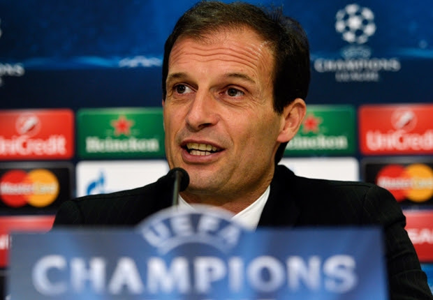 Allegri: Clubs who avoided Juventus in CL got lucky