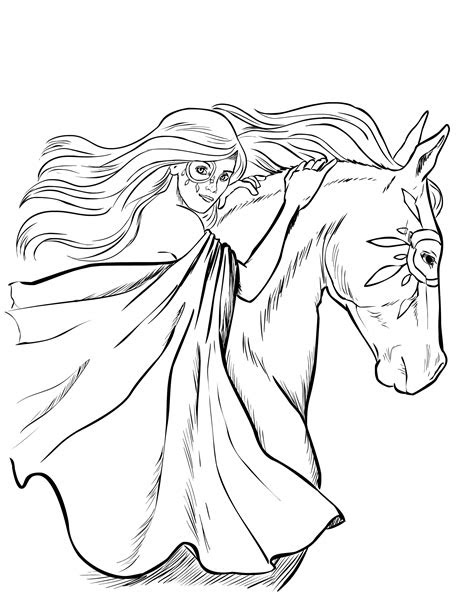 horse coloring pages selah works cindys adult