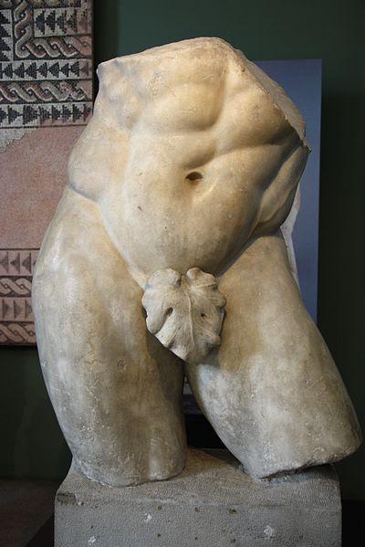 File:9651 - Museo archeologico di Milano - Frammento di Ercole del tipo Farnese - Foto Giovanni Dall'Orto, 13-Mar-2012.jpg