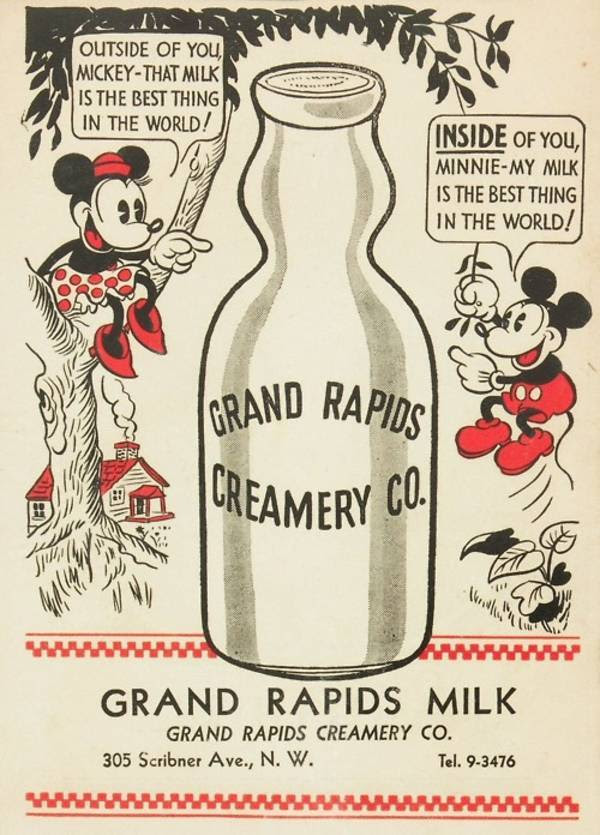 Grand Rapids Milk - Vintage ads