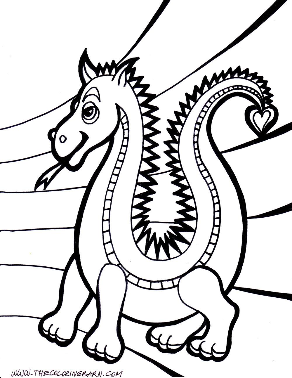 157 Dibujos De Dragones Para Colorear Oh Kids Page 9