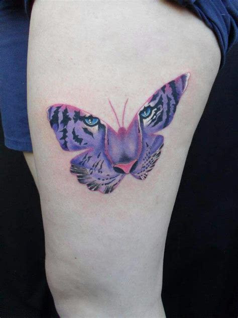 tiger butterfly tattoo designs images  pinterest