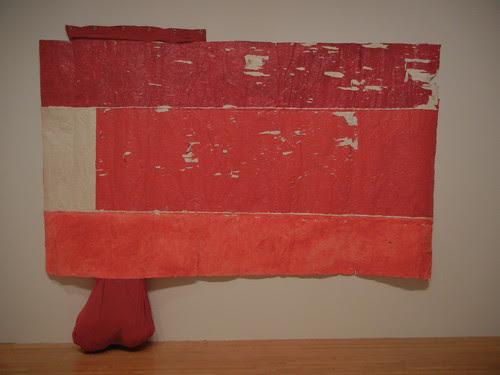 DSCN8719 _ UNtitled (flag), 2006-08, Rodney McMillian (b. 1969), MOCA