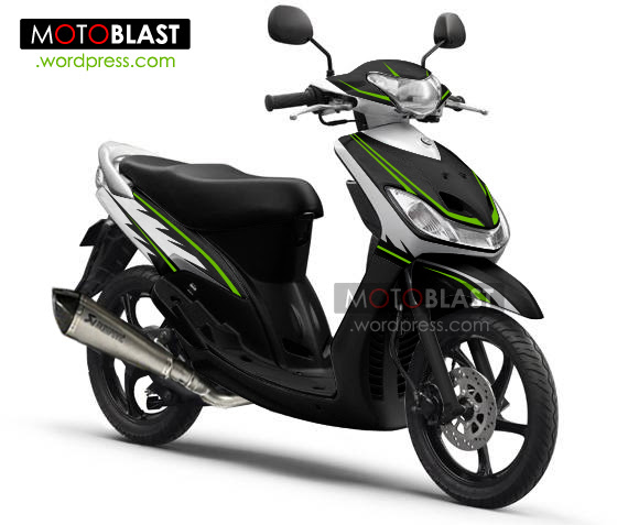 ide modifikasi striping mio sporty