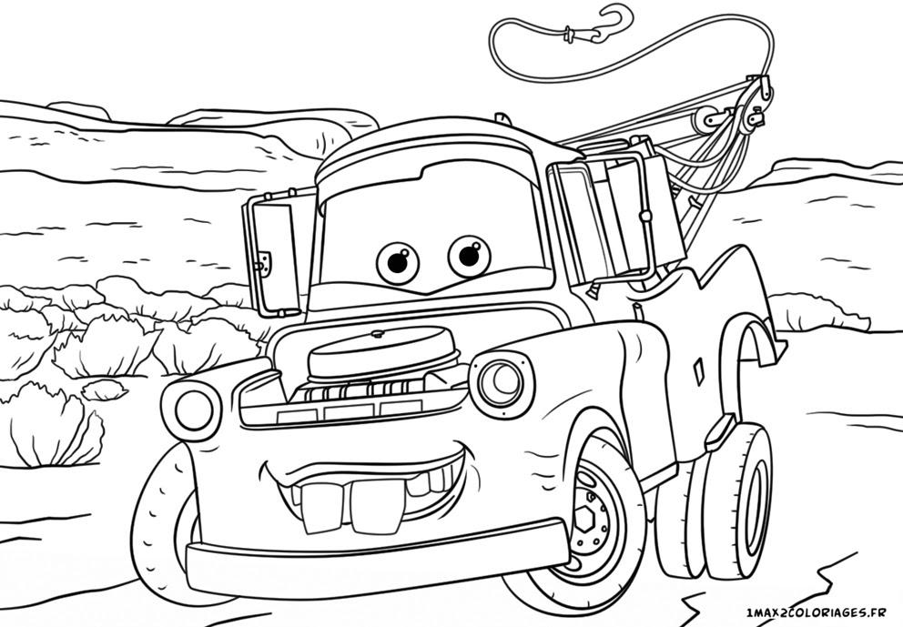Coloriage Cars Et Martin.Coloriage Martin Cars Coloriage