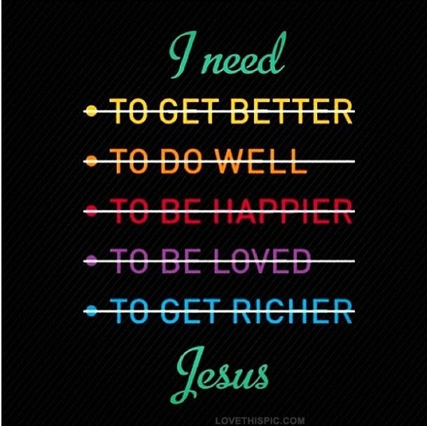 Image result for I need jesus