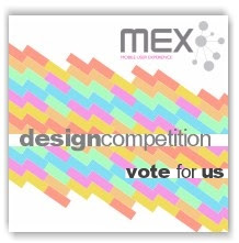 Vote for us in the MEX Design Competition
