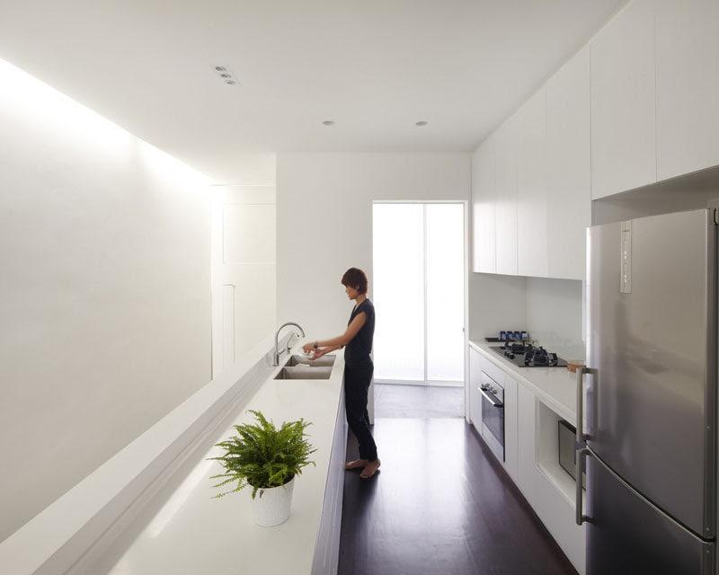 Kitchen Design Idea - White, Modern and Minimalist ...