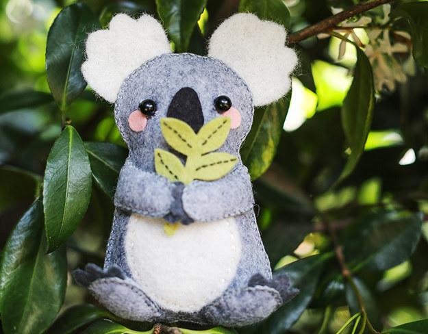 1. Мягкая коала дети, поделки, своими руками, сделай сам, творчество