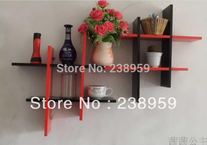 Shop Popular Black Wooden Shelves from China | Aliexpress