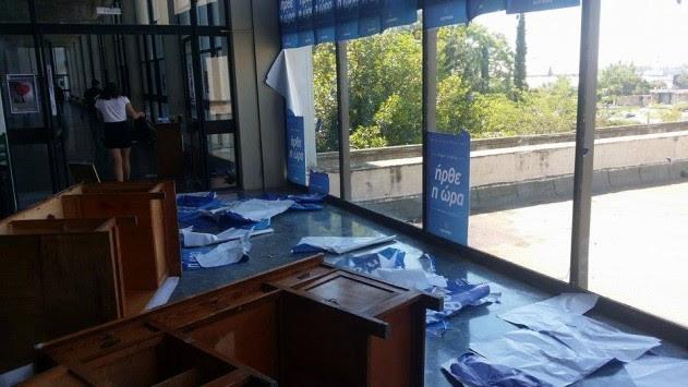 Καταγγελίες για άγριο ξύλο από αντιεξουσιαστές στις φοιτητικές εκλογές (ΦΩΤΟ και ΒΙΝΤΕΟ)
