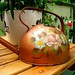Hand Painted Copper Watering Can