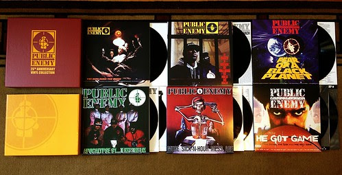 Public Enemy - 25th Anniversary Vinyl Collection LP Box Set by Tim PopKid