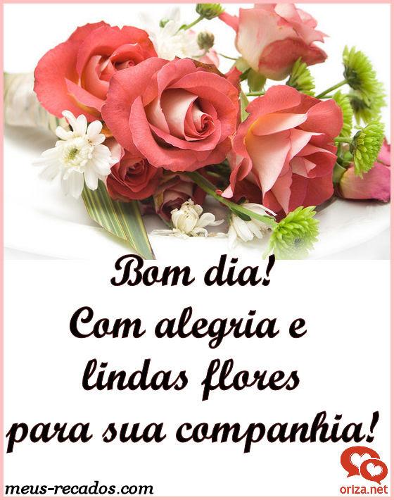 Tag Frases De Bom Dia Com Muitas Flores