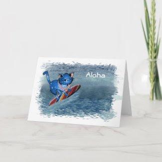 Aloha Hawaiian Christmas Cards