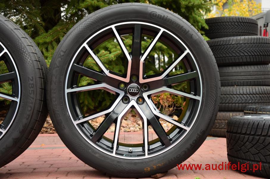 Nowe Oryginał Audi Q8 22 Audifelgipl