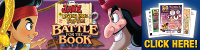Download Jake And The Neverland Pirates - Battle for The Book - Activity Pages