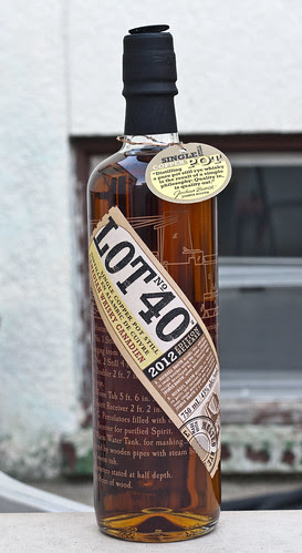 Whisky Review: Lot 40 Single Copper Pot Still Whisky (Corby Distilleries) by Cody La Bière